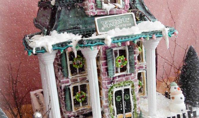 Victorian Gingerbread House Cakecentral