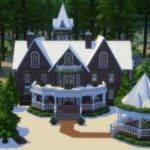 Victorian Gingerbread House Simplicity Sims