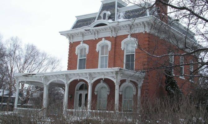 Victorian Home Restoration Second Empire Brick