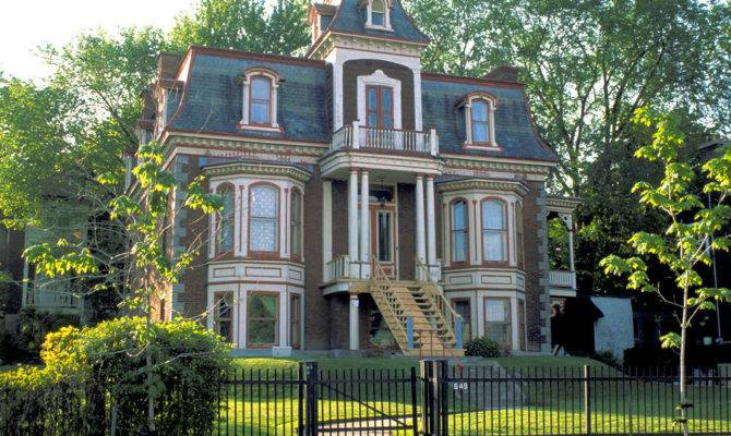 Victorian House Photograph Gracious Montreal