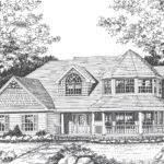 Victorian House Plan Front Plans
