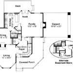 Victorian House Plan Gibson Floor