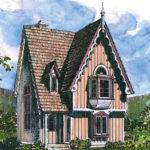 Victorian House Plans Langston Associated Designs
