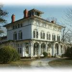 Victorian Italianate House Large Porches Romantic Architectural Floor