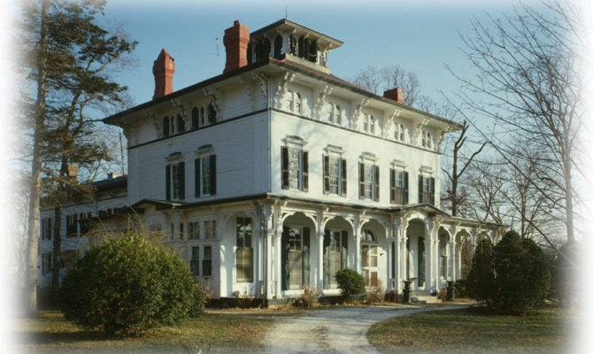 Victorian Italianate House Large Porches Romantic Architectural Floor
