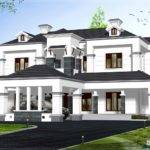 Victorian Model House Exterior Kerala Home Design Floor Plans