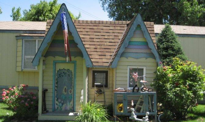 Victorian Playhouse Happy Birthday Aubreys Outdoor