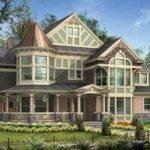Victorian Queen Anne House Splendor Pinterest