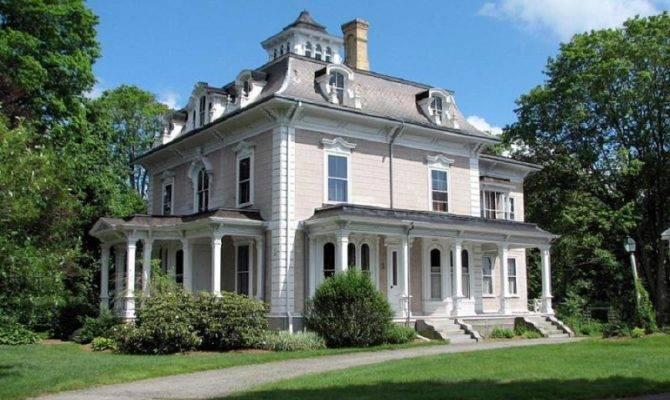 Victorian Second Empire Wrentham Massachusetts