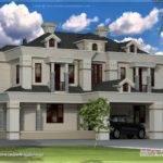 Victorian Style Exterior Kerala Home Design Floor