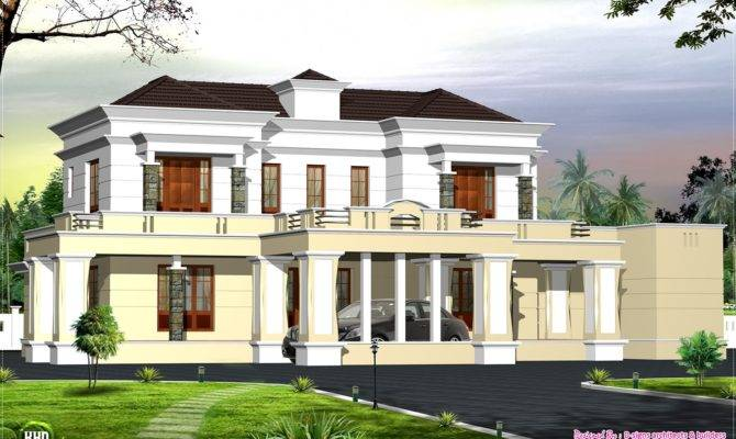 Victorian Style Luxury Home Design House Plans