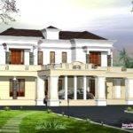 Victorian Style Luxury Home Design Kerala Floor