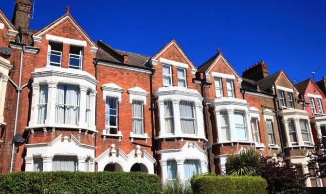 Victorian Terraced Houses Horizontal