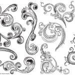 Victorian Vector Pack One Most Popular Ornamental Flourish