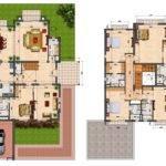 Villa Floor Plans Abadi Villas Two Bedroom