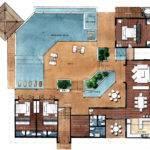 Villa Floor Plans Angthong Hills Koh Samui Thailand Hillside