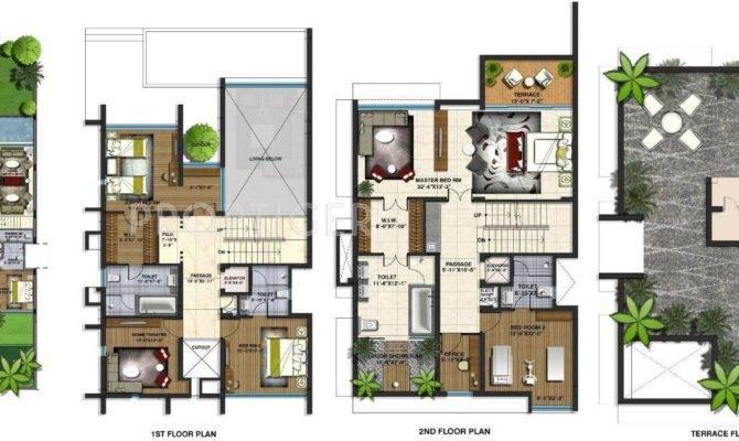 Villa Floor Plans India