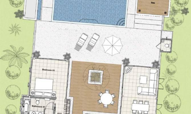 Villa Layout Koh Samui Beach