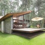 Villa Modern Stone House Design