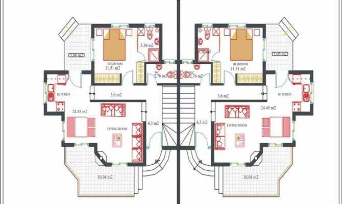 Villa Plan Modern Floor Plans