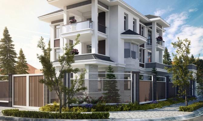 Villa Small House Vietnam Behance