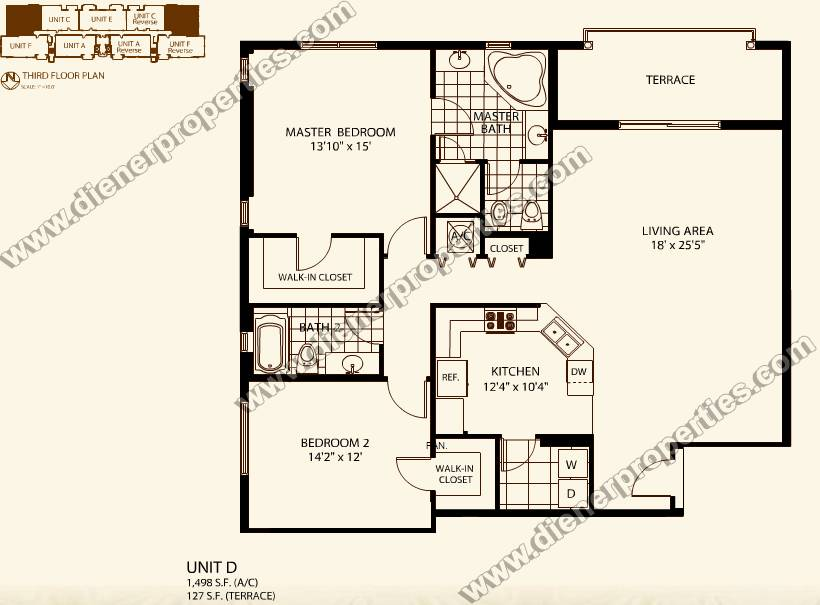 Awesome 3 Bedroom Condo Floor Plan Pictures - Home Plans ...