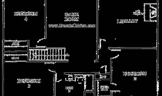 Villages Canada Floor Plan Upstairs