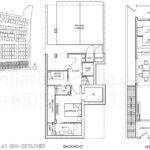Villas Example Semi Detached House Floor Plan Enlarge