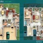 Villas Floor Plans Dubai Sports City Attached
