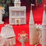 Vintage Gingerbread Village Victorian Crochet Allsfairyvintage