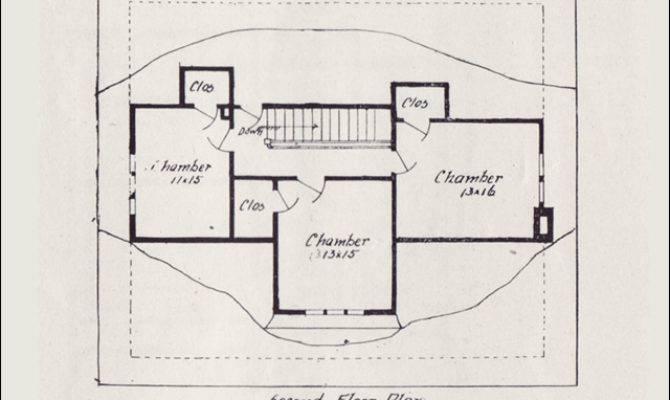 Vintage House Plan Western Home Builder Bungalows