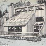 Vintage House Plans Passive Solar Sunken Living Room Octagon