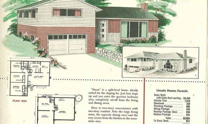 Vintage House Plans Ranch Homes Split Levels Expansions