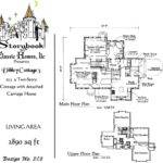 Vintage House Plans Storybook Pinterest