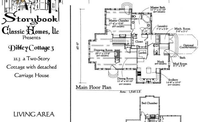 Vintage House Plans Storybook Pinterest