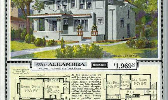Vintage Sears Catalog Craftsman House Plans Traditional