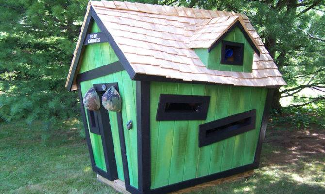 Visit Our Custom Playhouse Call Kids Crooked House