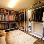 Walk Closet Laundry Room