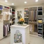 Walk Closet White Cabinet