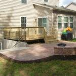 Walkout Basement Deck Patio Ideas Home Design