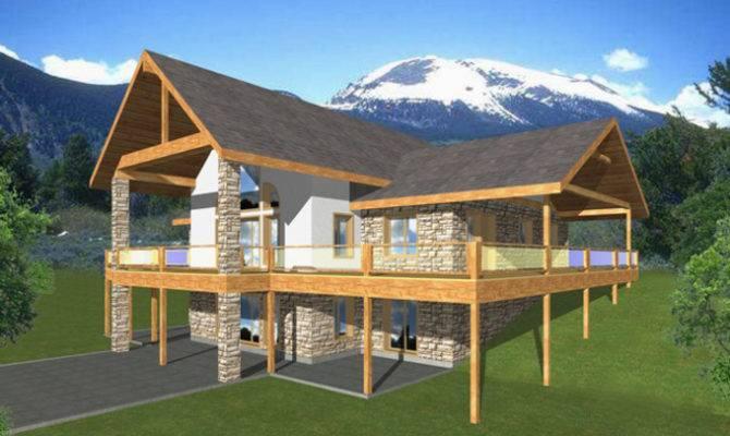 Walkout Basement House Plans Builderhouseplans