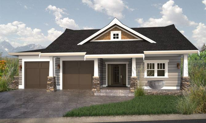 Walkout Bungalow House Plans Luxury Home Designs