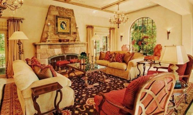 Wall Decorating Ideas Living Room Mediterranean Design