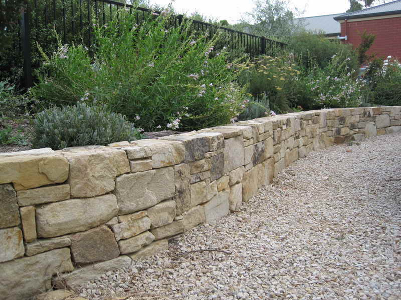 Walls Build Retaining Wall Natural Stone Home Plans Blueprints
