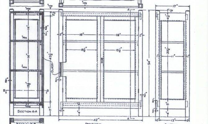 Wardrobe Closet Blueprints