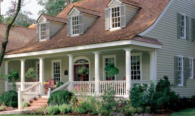 Warm Sunny Cape Cod Home Plan Plans Blog