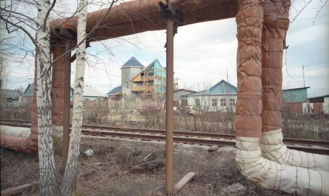 Water Pipes House Near Yekaterinburg Patrick Murphy