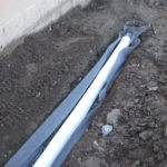 Water Wise Garden Infiltration Features French Drain