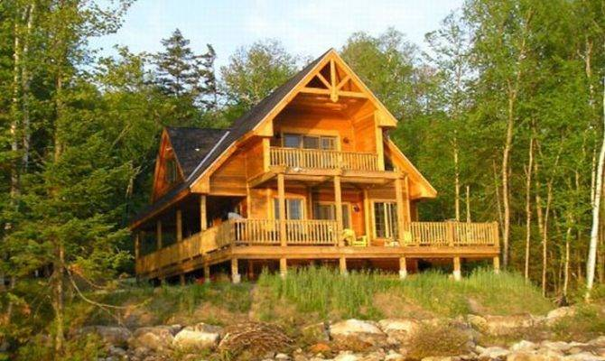 Waterfront Home Plans Rustic House Plan
