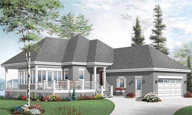 Waterfront House Plans Home Plan Makes Vacation Retreat
